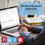 NUVO Klanttevredenheidsonderzoek 2020: Geef je mening over de NUVO!