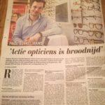 Eyelove en Telegraaf gaan weer los