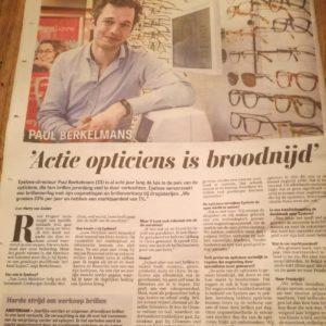Eyelove en Telegraaf