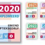 'Gediplomeerd 2020': de nieuwe NUVO-sticker