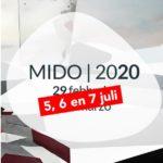 Nieuwe data voor MIDO: 5, 6 en 7 juli 2020