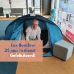 Lex Bouchier 25 jaar in dienst