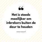 Alwéér een inbraak, dit keer in Volendam