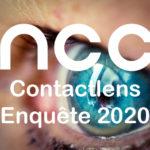 Vul de NCC contactlens enquête 2020 in!