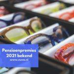 Pensioenpremies 2021