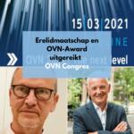 Uitreiking erelidmaatschap OVN en OVN-Award