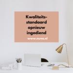 NUVO dient kwaliteitsstandaard in bij Zorginstituut Nederland