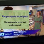 Brute overval met vuurwapen op opticien in Oosterbeek